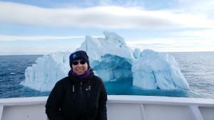 ice berg selfie