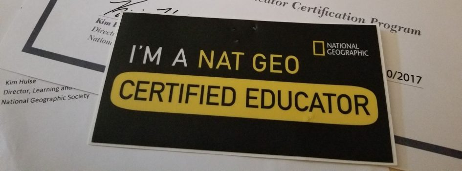 National Geographic Educator Certification – Tundra Tales